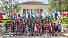 Latinx graduation photo