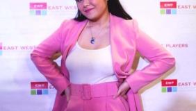 Sandy Nguyen on Opening Night