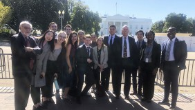 Oxy UN group at white house