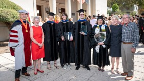 Occidental faculty were honored at the College's 2019 Convocation ceremony.