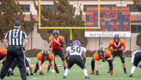 Oxy football players