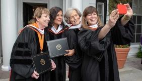 The four 2018 graduation speakers