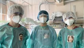 Nurses in Japan wearing PPE Portraits