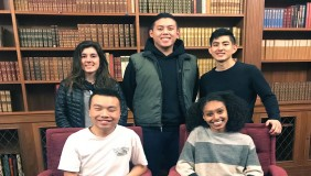 Oxy's 2019 science scholars