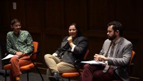 LA climate activism is discussed at Choi Auditorium