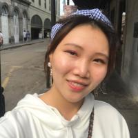 a picture of Irene Li posing outside