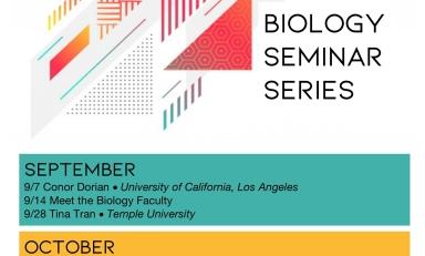Fall 2021 Biology Seminar Series Schedule