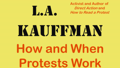 Poster for LA Kauffman lecture