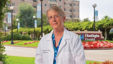 Dr. Kim Shriner at Huntington Hospital