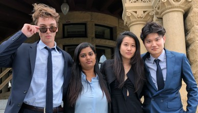 Occidental College's 2019 Blyth Fund stock pitch team