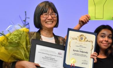 Karalee Nakatsuka '89, 2019 California History Teacher of the Year