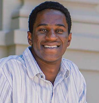 Oxy student Dire Ezeh, Class of 2019