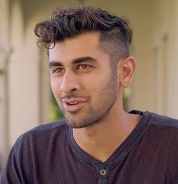 Oxy student Rahul Menon