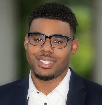 Oxy student Jarron Williams